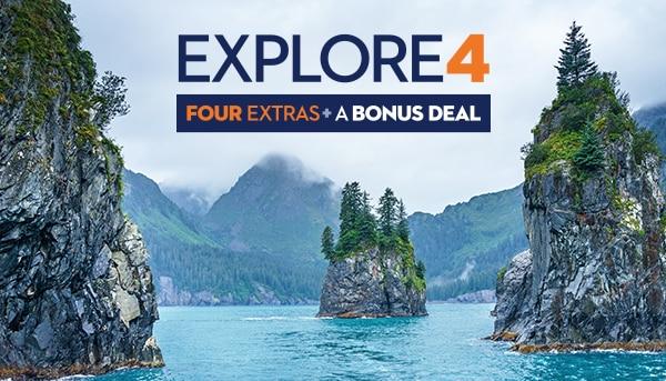 Explore4: Four Extras + A Bonus Deal