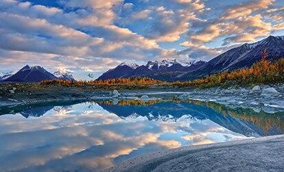 Photo of mountains at Wrangell