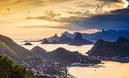 Image of mountains in Rio de Janeiro