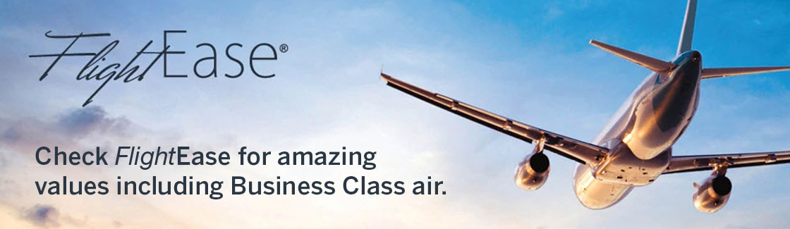 FlightEase® | Check FlightEase for amazing values including Business Class Air