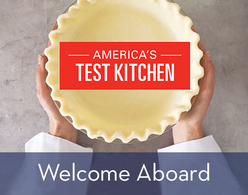 America's Test Kitchen: Welcome Aboard